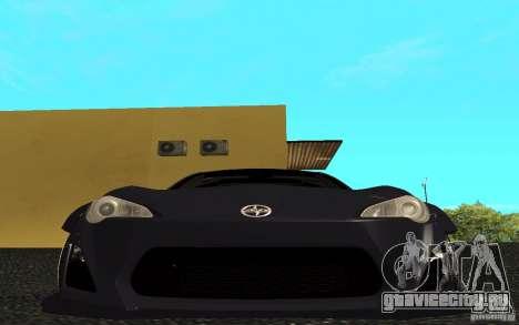 Scion FR-S для GTA San Andreas вид слева