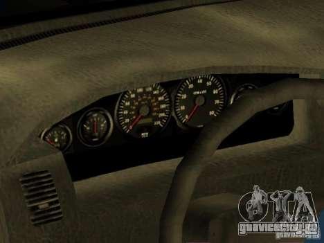 HD Kuruma для GTA San Andreas вид изнутри