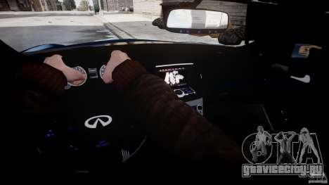 Infiniti G37 Coupe Sport для GTA 4 вид сбоку