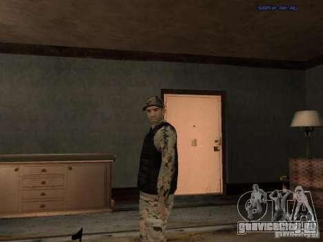 Army Soldier Skin для GTA San Andreas шестой скриншот