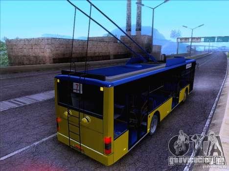 ElectroLAZ-12 для GTA San Andreas вид изнутри