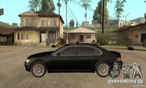BMW 760Li (e66) SE для GTA San Andreas вид слева