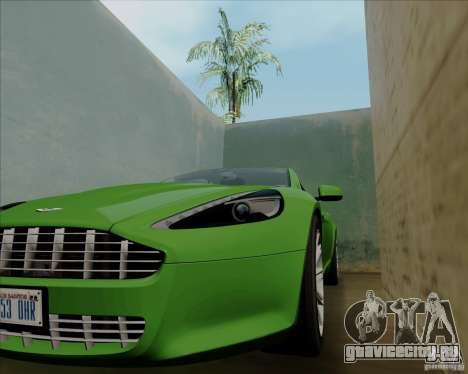Aston Martin Rapide 2010 V1.0 для GTA San Andreas вид сверху