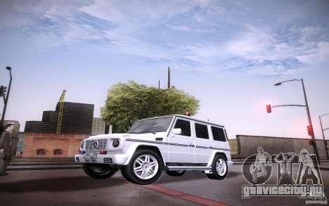 New Graphic by musha v2.0 для GTA San Andreas третий скриншот