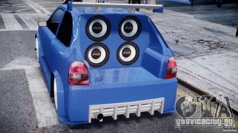 Chevrolet Corsa Extreme Revolution для GTA 4 салон