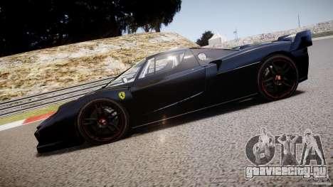 Ferrari FXX для GTA 4 вид слева