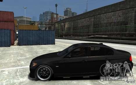 BMW 330i E60 Tuned 1 для GTA 4 вид слева