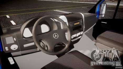 Mercedes-Benz ASM Sprinter Ambulance для GTA 4 вид сзади