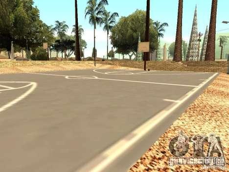 Новая баскетбольная площадка в Лос Сантосе для GTA San Andreas третий скриншот