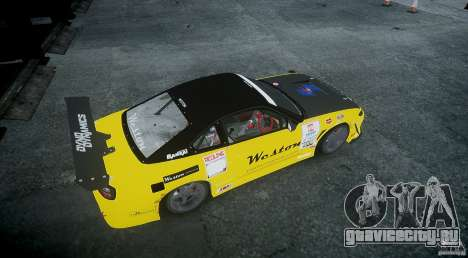 Nissan Silvia S15 v.3.0 для GTA 4 вид справа