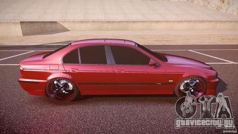 BMW M5 E39 Hamann [Beta] для GTA 4 вид сбоку