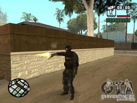 Спецназовец из SWAT 4 для GTA San Andreas четвёртый скриншот