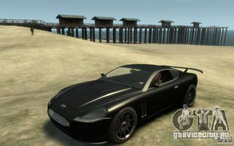 Aston Martin DB9 Super GTR beta для GTA 4