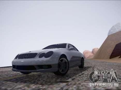 Mercedes-Benz CLK для GTA San Andreas вид слева