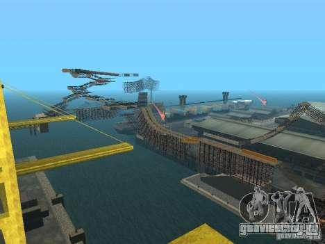 Huge MonsterTruck Track для GTA San Andreas