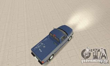 Dodge Ram 2500 1994 для GTA San Andreas вид сзади слева