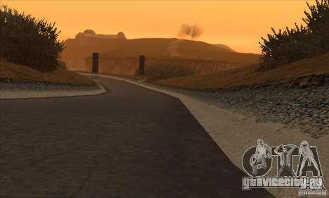Трасса из NFS Prostreet для GTA San Andreas четвёртый скриншот