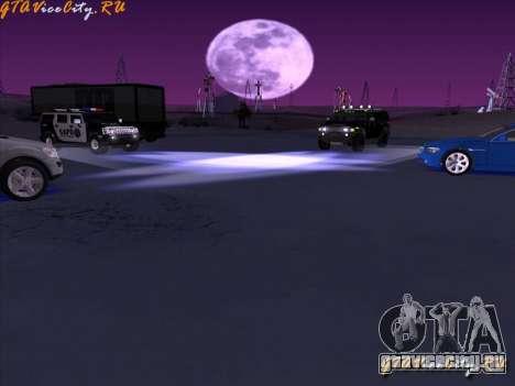 Neon - неоновая подсветка в GTA San Andreas для GTA San Andreas третий скриншот
