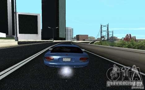 Dodge Viper GTS Monster Energy DRIFT для GTA San Andreas вид слева