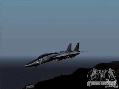 F-14 Tomcat Warwolf для GTA San Andreas вид слева