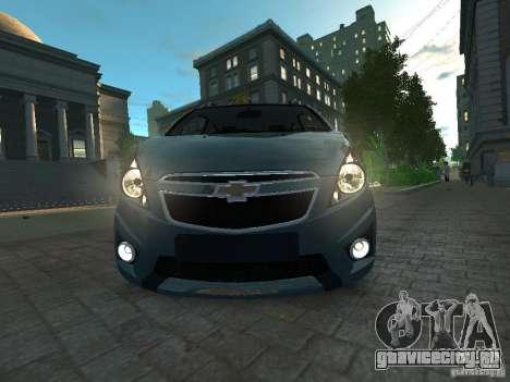 Chevrolet Spark для GTA 4 вид справа