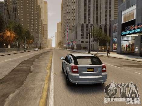 Dodge Caliber для GTA 4 колёса