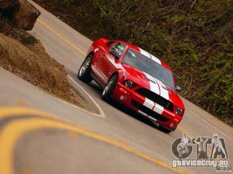 Загрузочные экраны в стиле Ford Mustang для GTA San Andreas шестой скриншот