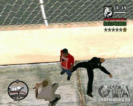 Dwayne The Rock Johnson для GTA San Andreas третий скриншот