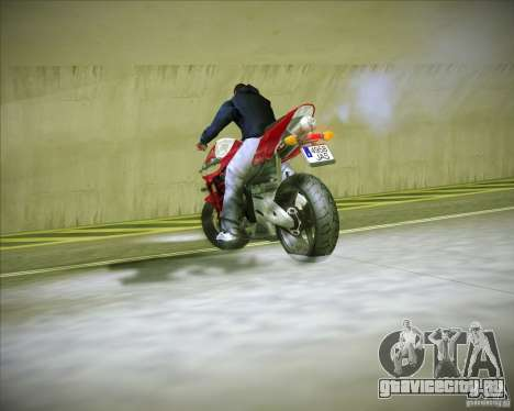 Honda CBR600RR 2005 для GTA San Andreas вид сзади
