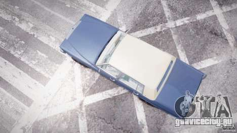 Cadillac Fleetwood Brougham 1985 для GTA 4 вид сбоку