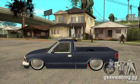 Chevrolet S-10 1996 Draggin для GTA San Andreas
