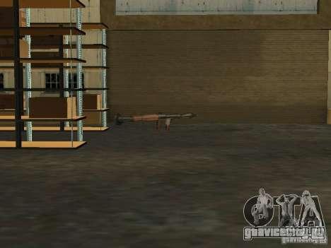 Оживление военной базы в доках для GTA San Andreas пятый скриншот