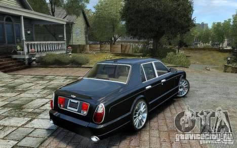 Bentley Arnage T для GTA 4 вид слева