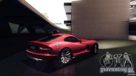 Dodge SRT Viper GTS 2012 V1.0 для GTA San Andreas вид справа