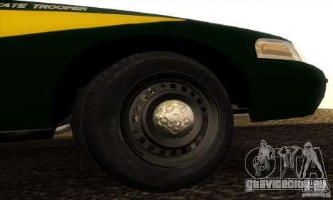 Ford Crown Victoria Indiana Police для GTA San Andreas