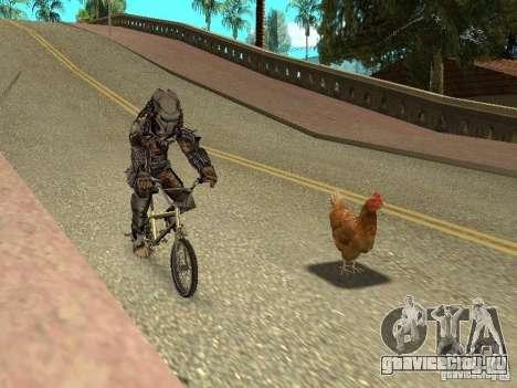 Куриный патруль для GTA San Andreas третий скриншот