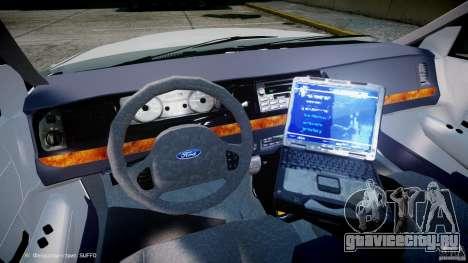 Ford Crown Victoria NYPD для GTA 4 вид сзади