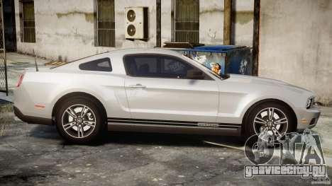 Ford Mustang V6 2010 Premium v1.0 для GTA 4 вид сбоку