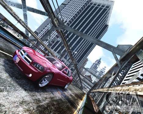 Dodge Charger RT 2006 для GTA 4 вид сзади