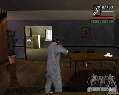 P90 из GTA IV The Ballad of Gay Tony для GTA San Andreas третий скриншот