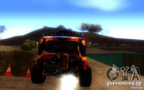 УАЗ 4х4 для GTA San Andreas вид справа
