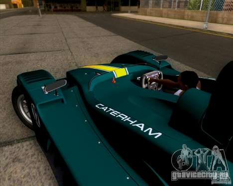 Caterham Lola SP300R для GTA San Andreas вид сзади
