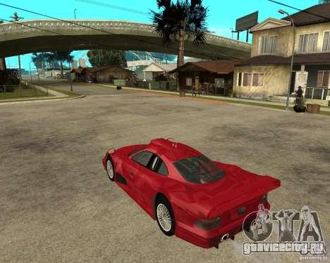 Mercedes-Benz CLK GTR road version для GTA San Andreas вид слева