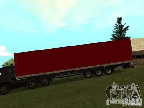 НефАЗ 93344 Красный для GTA San Andreas вид слева