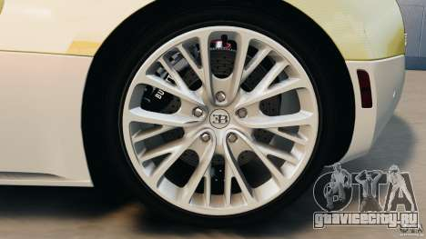 Bugatti Veyron 16.4 Super Sport 2011 v1.0 [EPM] для GTA 4 вид сверху