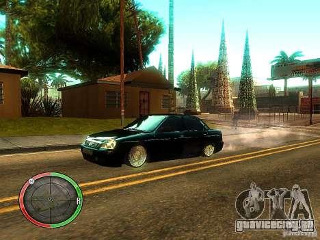 Lada Priora Dag Style для GTA San Andreas колёса