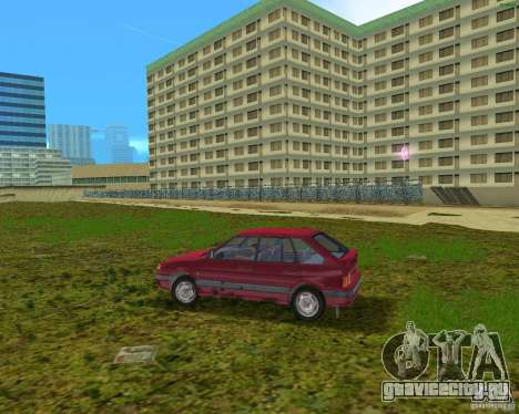 Lada Samara для GTA Vice City вид слева