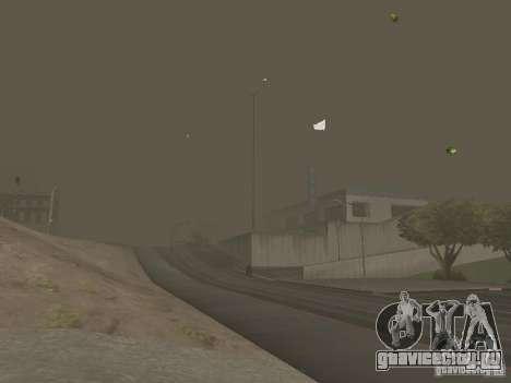 Weather manager для GTA San Andreas девятый скриншот