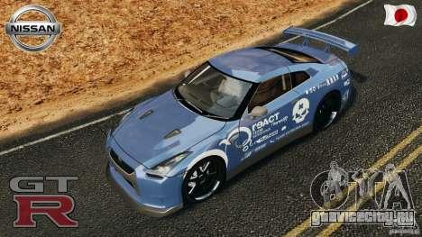 Nissan GT-R 35 rEACT v1.0 для GTA 4 салон