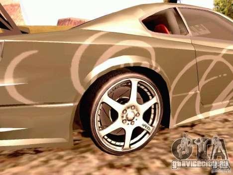 Nissan Silvia S15 By Blaze для GTA San Andreas вид сзади слева